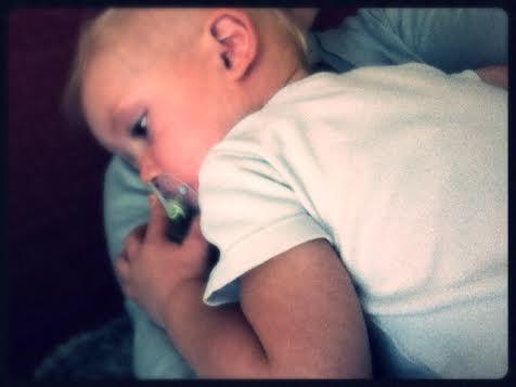 bébé malade = bébé calin